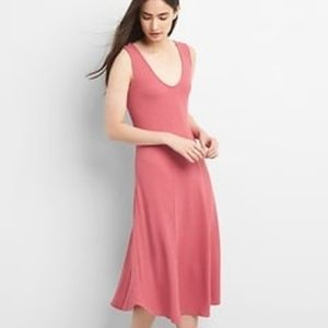 Ribbed Softspun Sleeveless Midi Dress